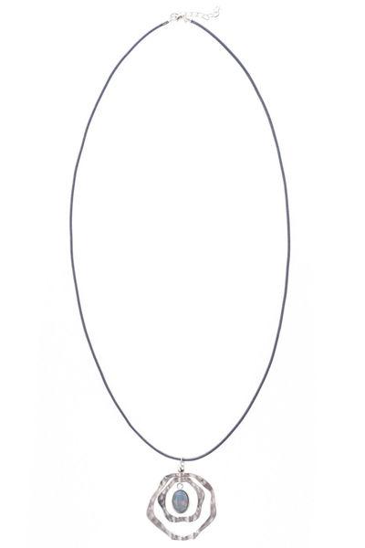 Picture of Ogrlica medaljon i nepravilni krugovi
