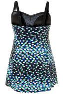Picture of Kupaći kostim jednodjelni motiv malih i velikih točkica
