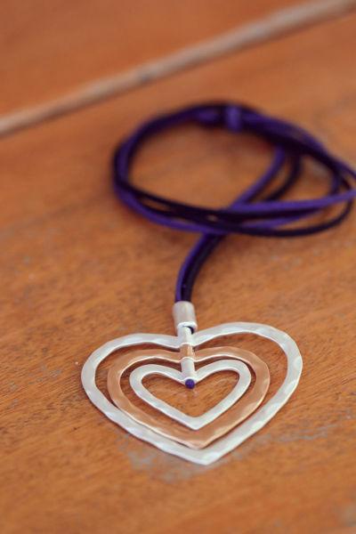 Picture of Ogrlica srce u srcu