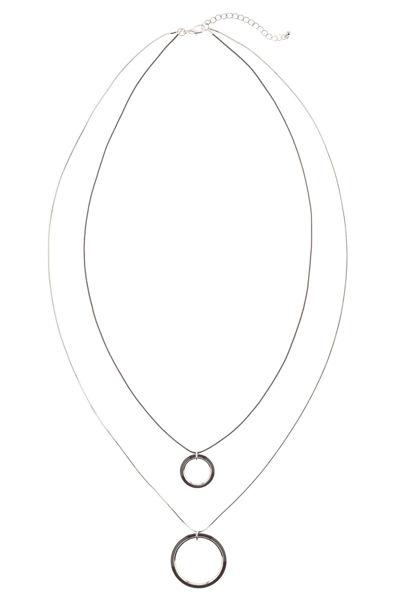 Picture of Ogrlica s dva ringa