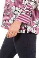 Picture of Tunika A kroja s prugama i cvijećem