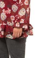 Picture of Bluza s volanima i cvijećem