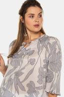 Picture of Bluza motiv lišća i cvijeća