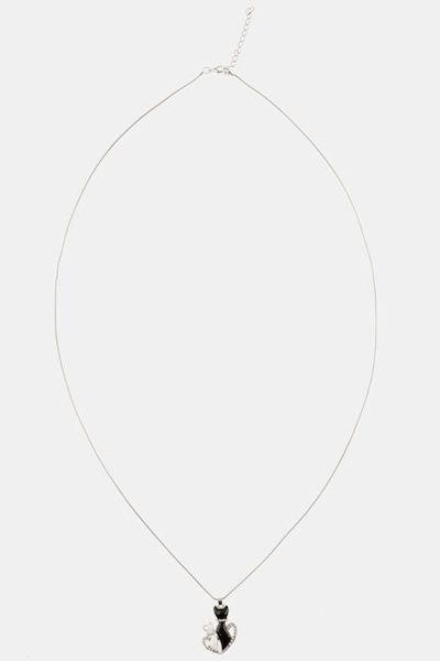Picture of Ogrlica motiv mačke i srca