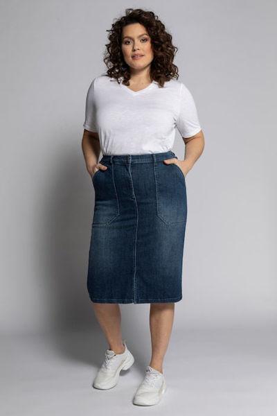 Picture of Suknja traper s džepovima