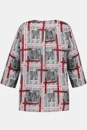 Picture of Bluza grafički motiv 3/4 rukavi