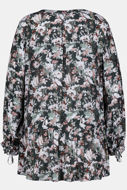 Picture of Bluza cvjetni motiv kraća prednja strana